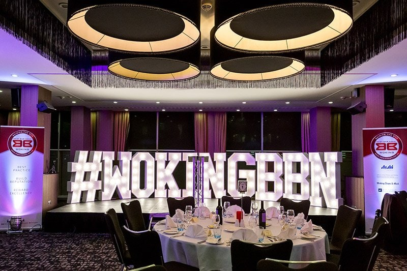 Air Social sponsors Woking's Best Bar None Awards