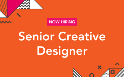 We're Hiring: Senior Creative Designer